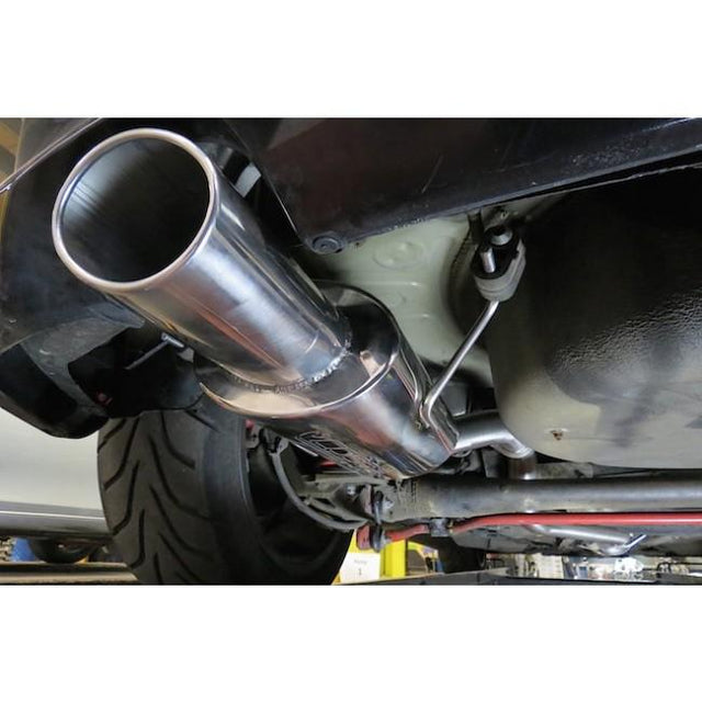 Vauxhall Astra H Sports Exhaust Fitted -4
