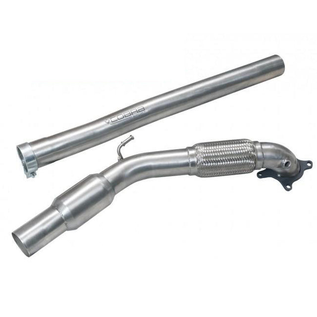 Audi A3 8P Front Pipe Cobra Sports Exhaust - AU45
