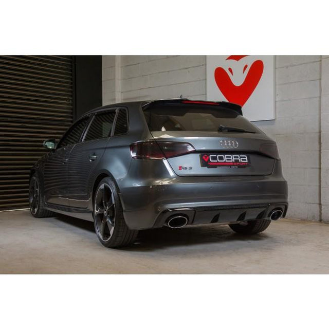Audi RS3 (8V) 2.5 TFSI Secondary DeCat Exhaust by Cobra Sport