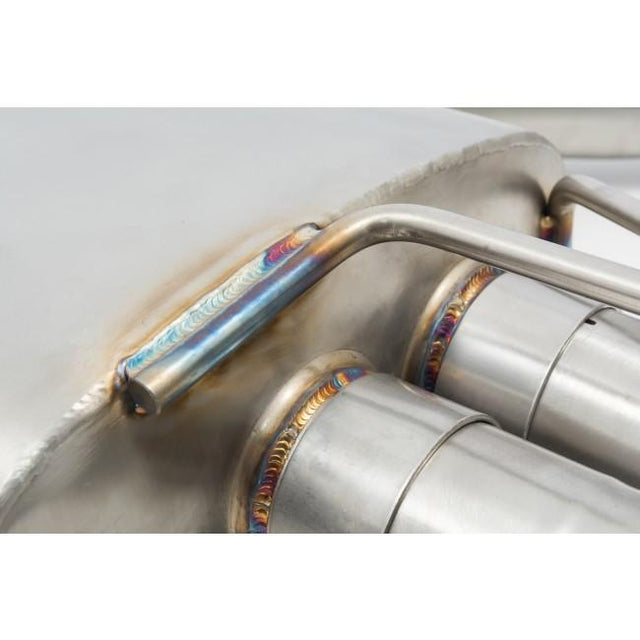Audi S3 (8V) Valved Turbo Back Exhaust Rear Box