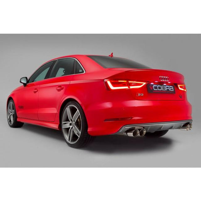 Audi S3 Saloon Cobra Sport Exhaust