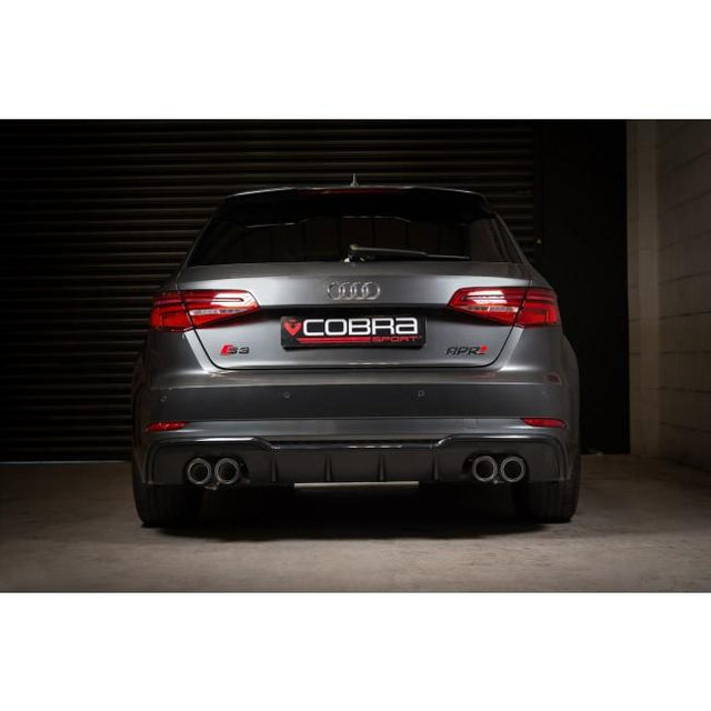 Audi S3 (8V) Valved Turbo Back Exhaust