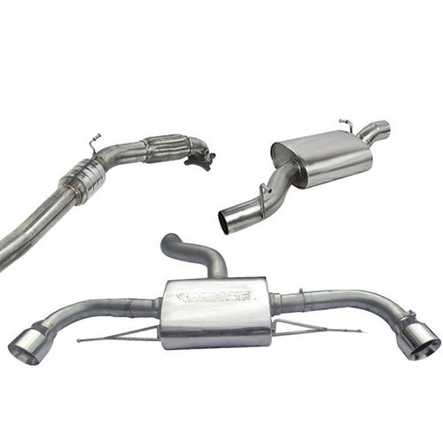 Audi TT Mk2 Quattro Turbo Back Cobra Exhaust