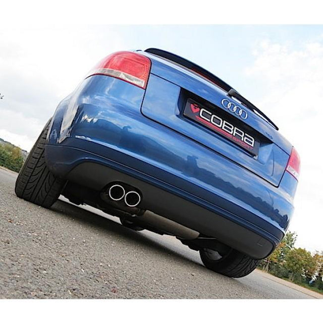 Audi TDI Sports Exhaust Fitted