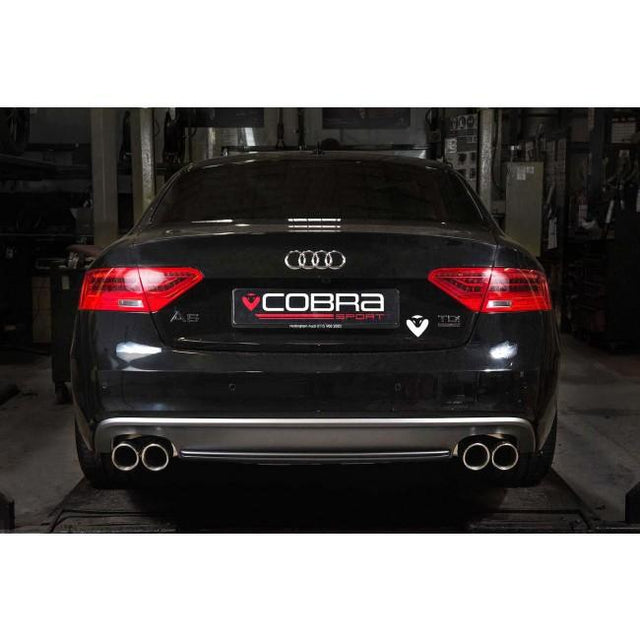 Audi A5 TDI Dual Exit Sports Exhaust 9