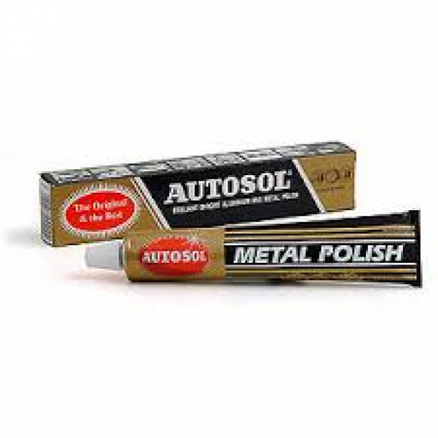 Autosol Metal Polish - Exhaust Cleaning Paste