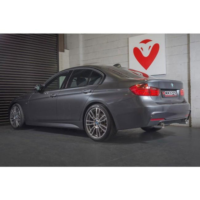 BMW 330D Dual Exit 340i Style Performance Exhaust