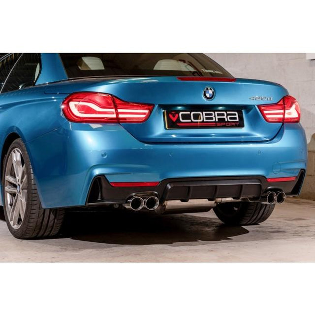 BMW 420D Quad Exit Performance Exhaust