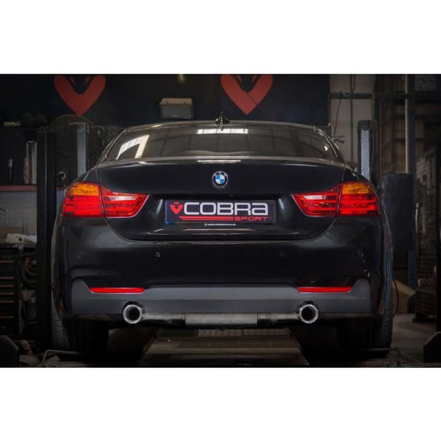 BMW 435D Performance Exhaust by Cobra Sport