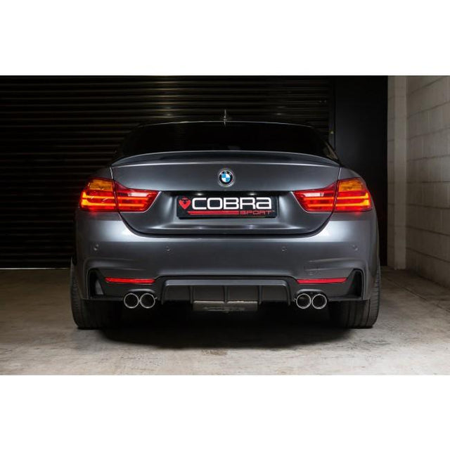 BMW 430D M4 Style Exhaust Conversion by Cobra Sport