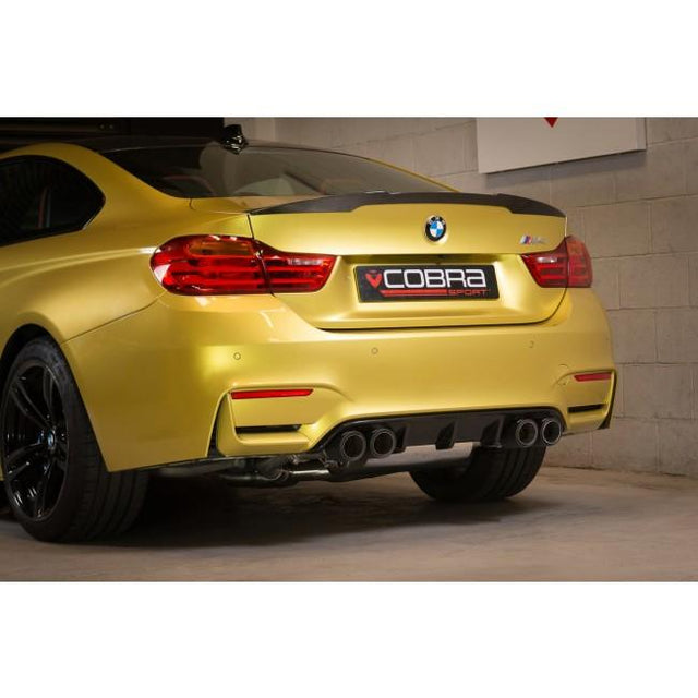 Carbon Fibre Tips - BMW M4 (F82) Cobra Sport Exhaust