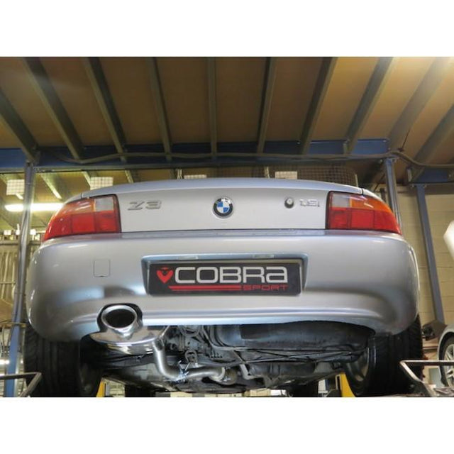 BMW Z3 Cobra Sport Exhaust Fitted