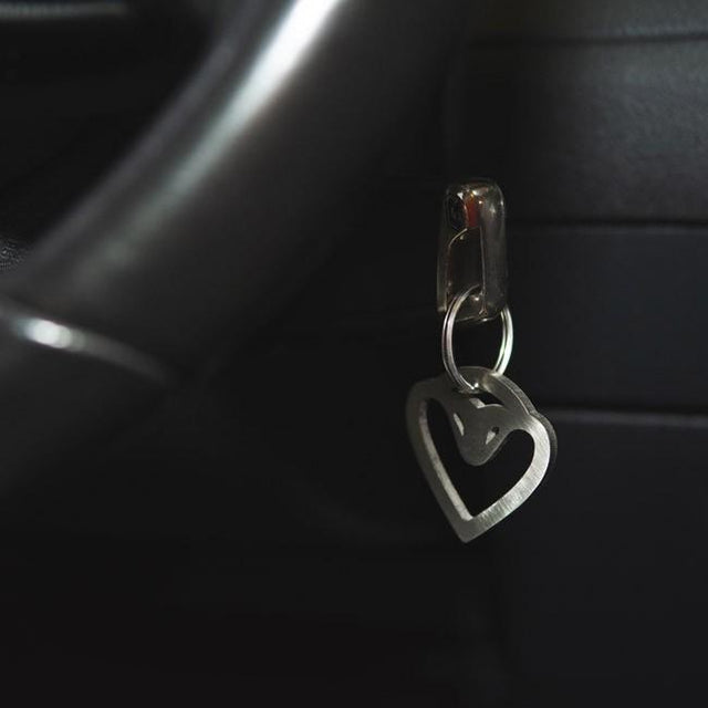 Cobra Sport Exhausts Stainless Steel Keyring