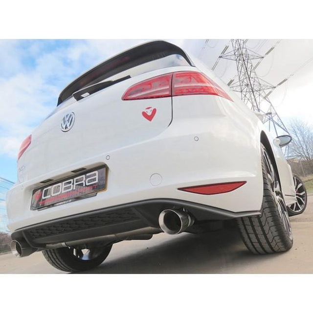VW Golf GTD Mk7 Sports Exhaust Fitted