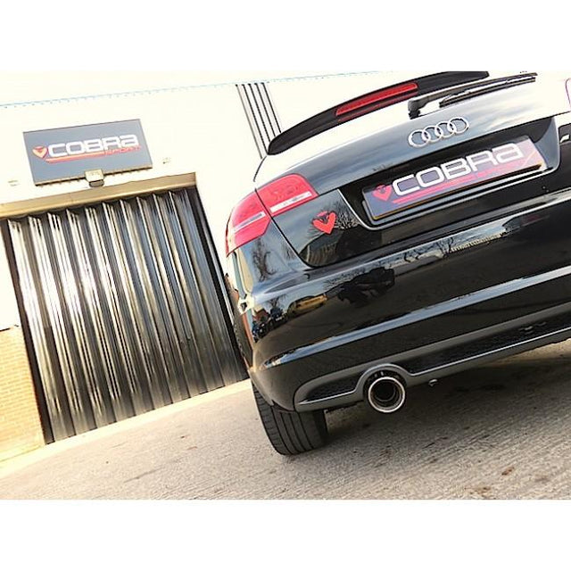 Audi TDI Cobra Sports Exhaust Fitted - 1