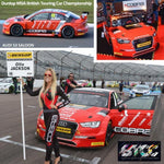 Audi S3 Saloon AmDTuning with Cobra Exhausts BTCC Car