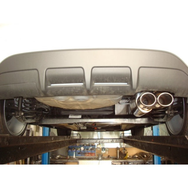 Ford Fiesta (Mk7) Zetec (1.2/1.4/1.6) Cat Back Performance Exhaust