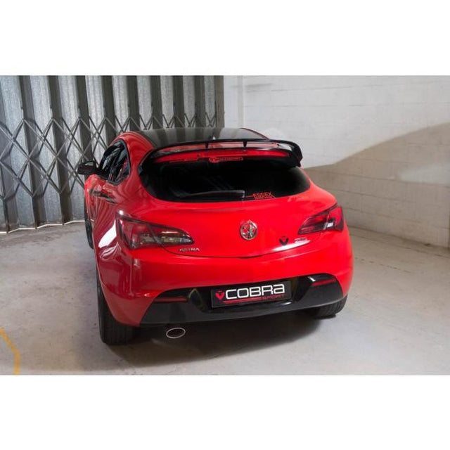 Vauxhall Astra GTC 1.6 Resonated Cat Back Exhaust