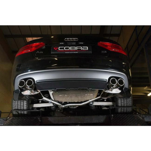 Audi A5 TDI Dual Exit Sports Exhaust 4