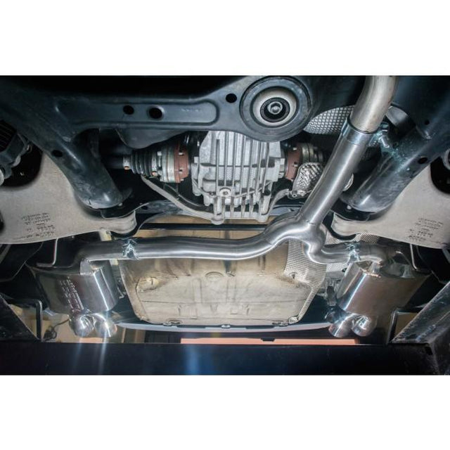 Audi A5 TDI Dual Exit Sports Exhaust 5