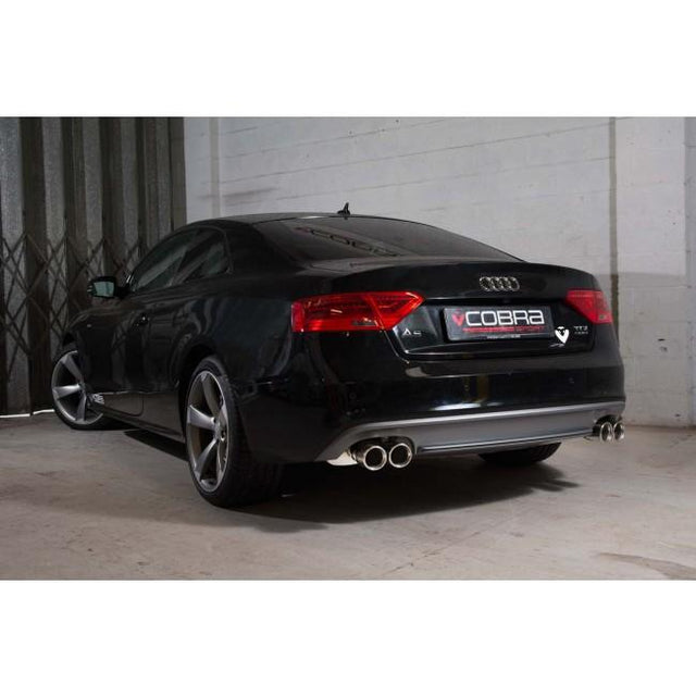 Audi A5 TDI Dual Exit Sports Exhaust 7