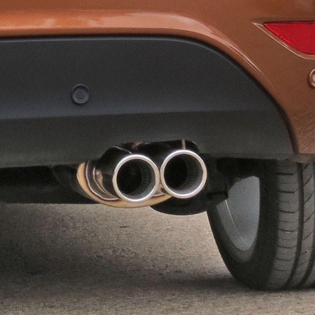 Fiesta 1.0 T Eco-boost Sports Exhaust Bumper Cut