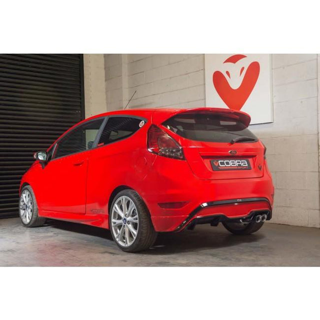 ST Style Ford Fiesta 1L EcoBoost Performance Exhaust by Cobra Sport