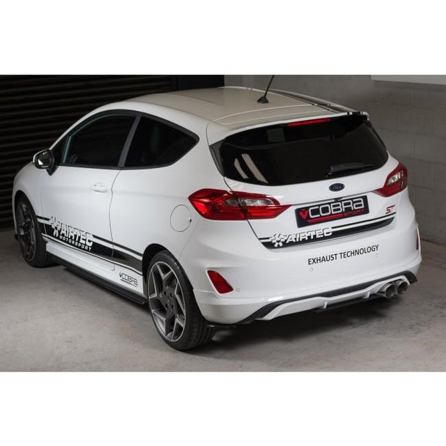 Ford Fiesta ST Mk8 Valved GPF Back Cobra Sport Exhaust