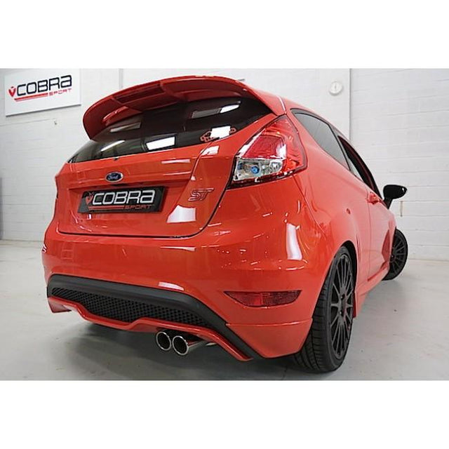 Fiesta ST180 Cobra Sport Exhaust Fitted
