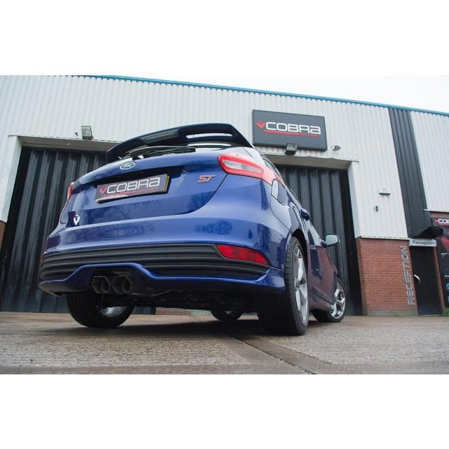 Ford Focus ST TDCI Performance Exhaust 9