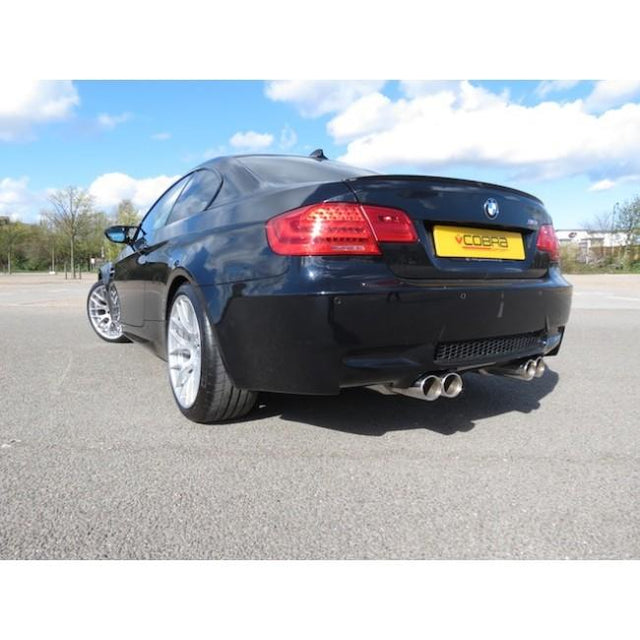 BMW M3 Exhaust Fitted
