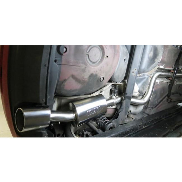 VW Golf Cobra Sport Exhaust Fitted 1