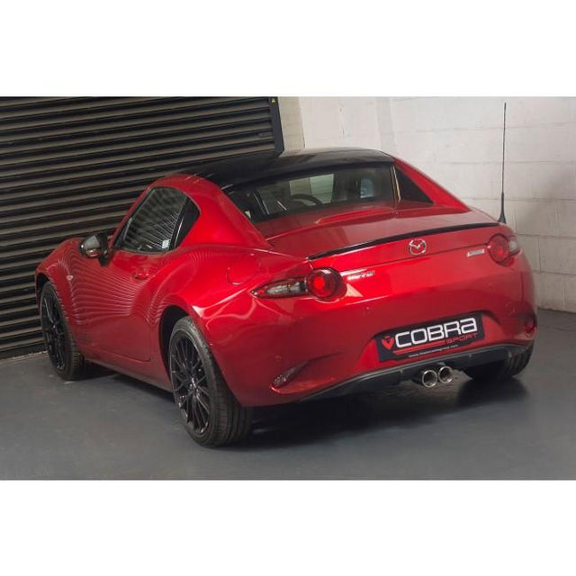 Mazda MX-5  Mk4 ND - Resonated Centre Exit Cat Back Performance Exhaust