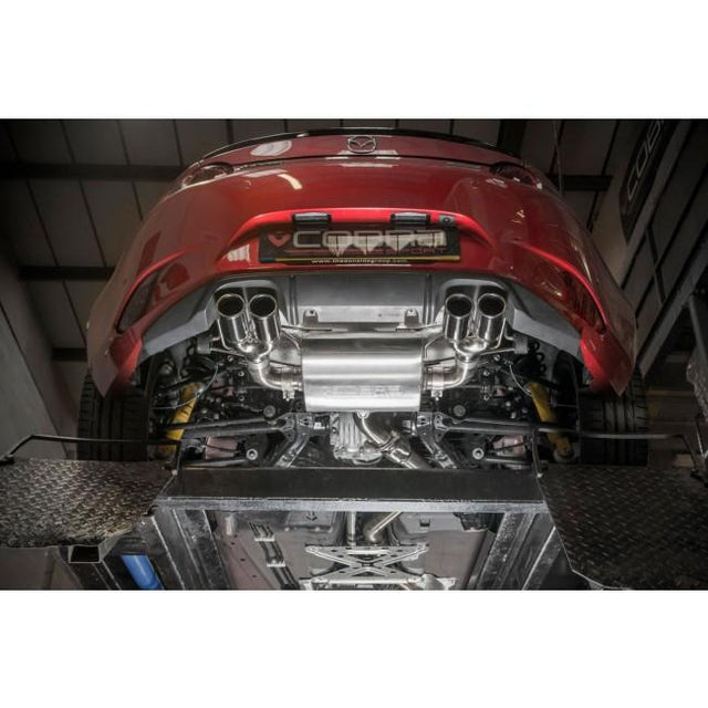 Dual Exit Mazda MX-5 Mk4 (ND) Cat Back Performance Exhaust