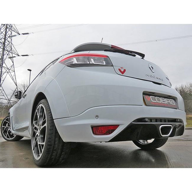 Renault Megane RS250 Sports Exhaust Fitted