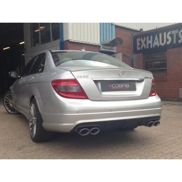 Mercedes W204 C200/C220/C250 (Diesel) AMG Quad Performance Exhaust