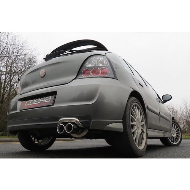 MG ZR Sports Exhaust Fitted