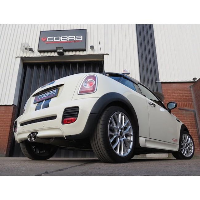 Mini Cooper S R58 Cobra Sport Exhaust Fitted - 1