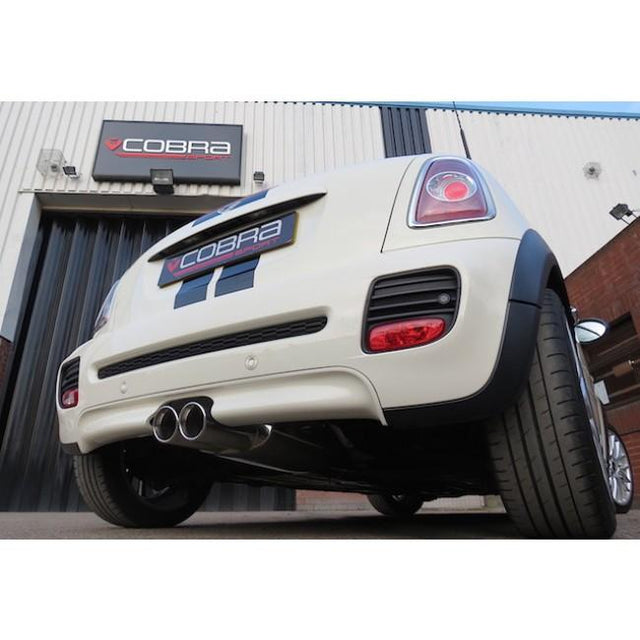 Mini Cooper S R58 Cobra Sport Exhaust Fitted - 2