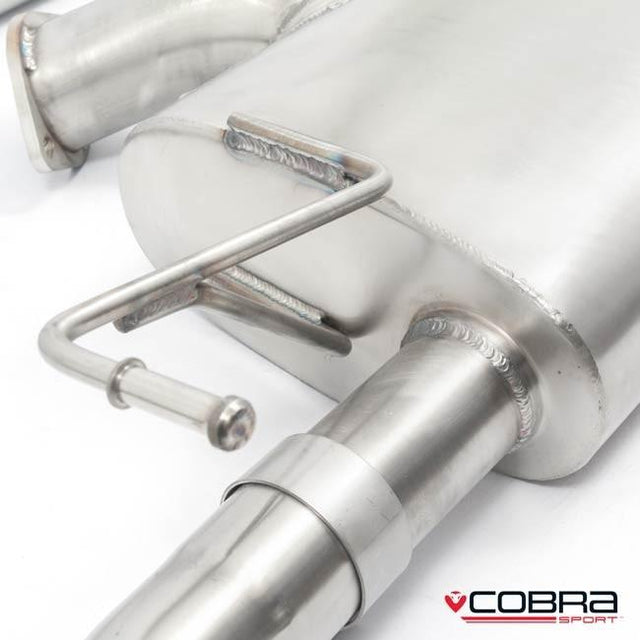 Nissan 350Z Resonated Cobra Sport Performance Exhaust Backbox