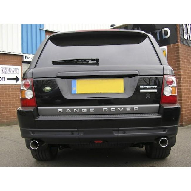 Range Rover Sport Tailpipes Fitted
