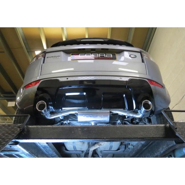 Range Rover Evoque Exhaust Fitted