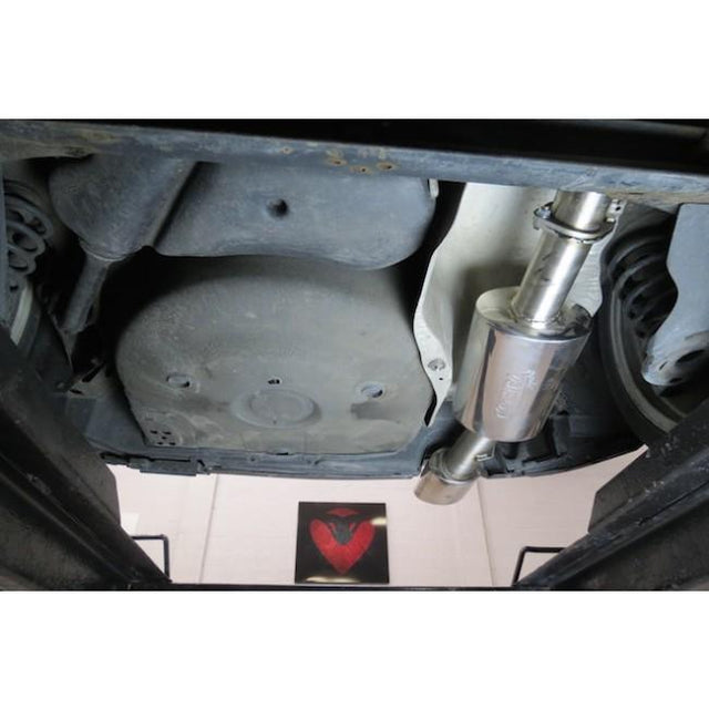 Seat Leon Cupra R Cat Back Exhaust Fitted