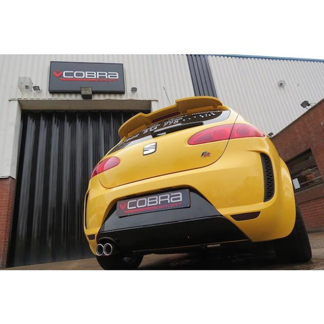 Seat Leon FR Cobra Sport Exhaust Fitted - 2