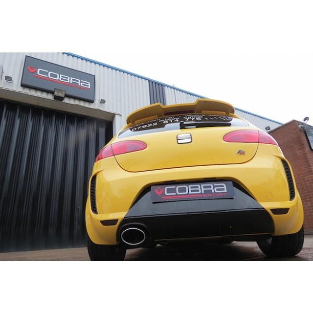 Seat Leon FR Cobra Sport Exhaust Fitted - 1