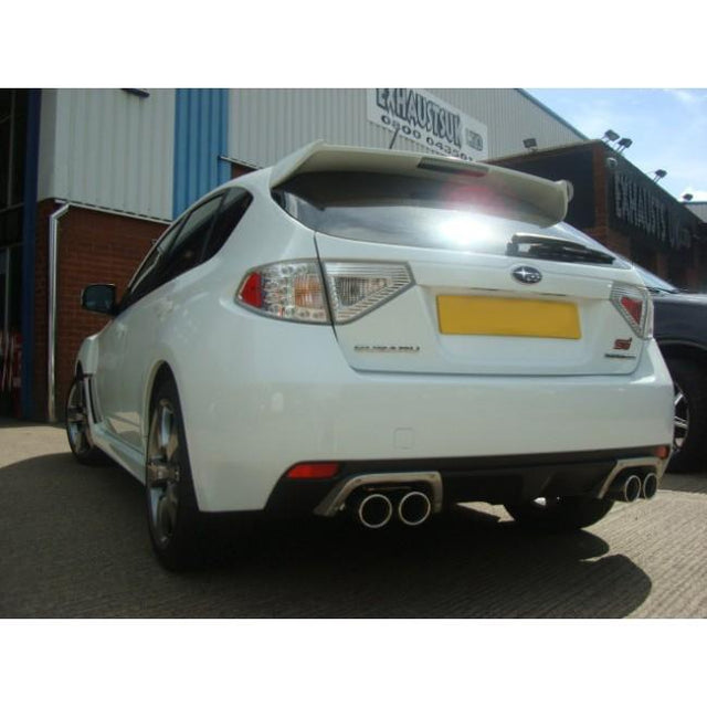 Subaru Impreza STI Turbo Hatchback (08-11) Turbo Back Performance Exhaust