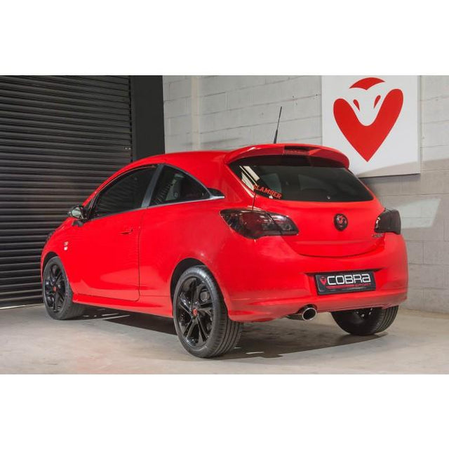 Vauxhall Corsa E 1.0 Turbo Resonated Performance Exhaust