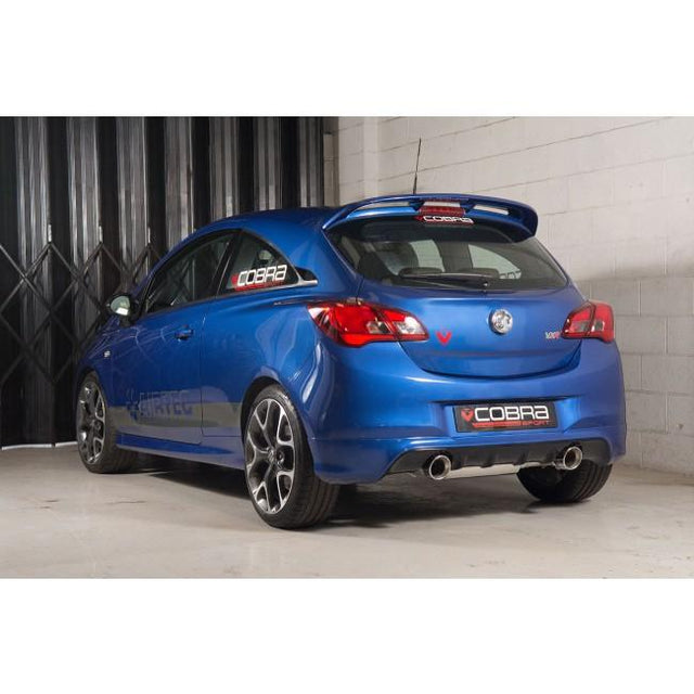 Vauxhall Corsa E VXR Sports Exhausts