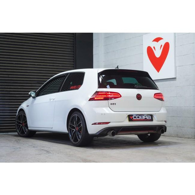 VW Golf Mk7 / 7.5 GTI Resonator Delete Exhaust - VW80