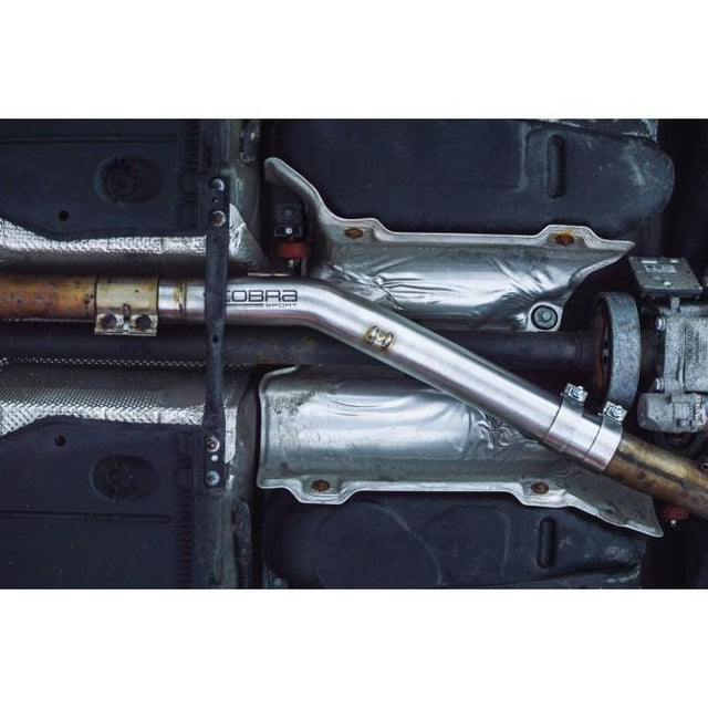 VW Golf R Mk7 / 7.5 Resonator Delete Cobra Exhaust - VW81